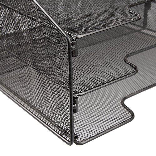 vanra schreibtisch ablage metall gitter zum sortieren. Black Bedroom Furniture Sets. Home Design Ideas