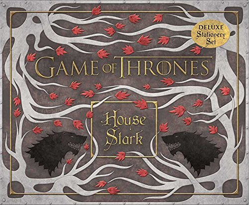 Game of Thrones: House Stark Deluxe Stationery Set (Insights Deluxe Stationery Sets) (Stark House compare prices)
