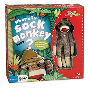 Where Is Sock Monkey Board Game