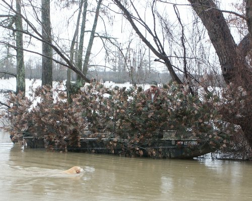 PMI Cover System™ Camouflex® Duck Blind for Boats 12' - 16'