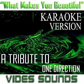 what makes you beautiful karaoke version a tribute to one direction