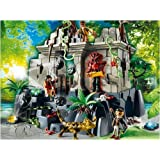 Playmobil 4842 Treasure Temple with Guards [Toy]