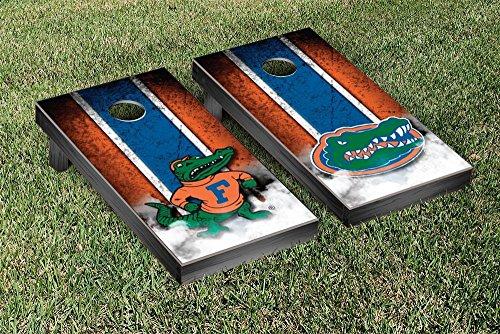 Florida UF Gators Cornhole Game Set Vintage Alt Version (Florida Gators Corn Hole compare prices)