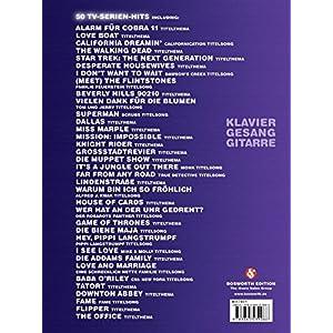 TV-Serien-Hits - 50 Titelsongs und Themen aus bekannten TV-Serien