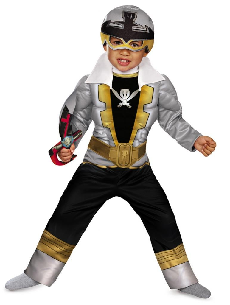 Disguise Saban Super MegaForce Power Rangers Special Ranger Silver Toddler Muscle Costume at Sears.com
