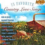 15 Favorite Country Love Songs CD