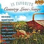 15 Favorite Country Love Songs CD