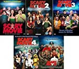 Scary Movie Complete DVD Collection [5 Discs] Boxset: 1 / 2 / 3 / 4 / 5