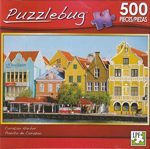 Puzzlebug 500 - Curacao Harbor - 1