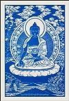 Medicine Buddha Cloth Print