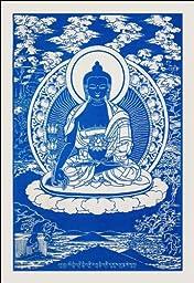 Medicine Buddha ~Cloth Print