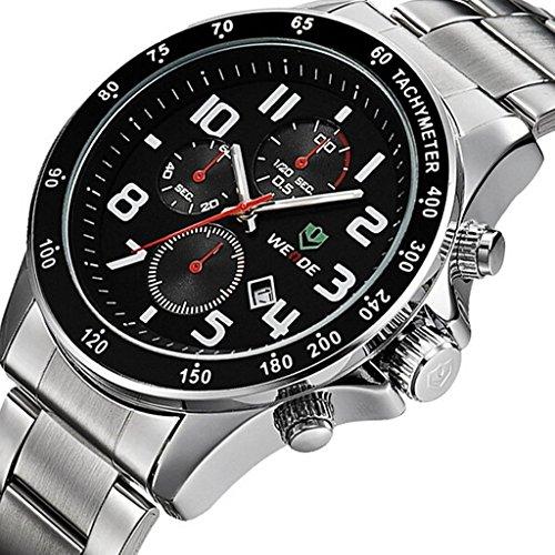 tcella-mens-quartz-movement-stainless-steel-black-dial-calendar-waterproof-sport-wrist-watch