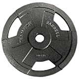 Champion Olympic Grip Plate (35-Pound)
