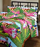 RajasthaniKart Cartoon Print Princess Reversible AC Blanket/Quilt (Soft, Skin friendly)