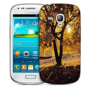 Snoogg Summer Forest Designer Protective Phone Back Case Cover For Samsung Galaxy S3 Mini