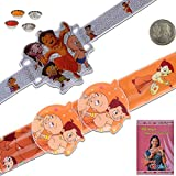 Little India Chhota Bheem N Friends Design Kids Flexible Rakhi Gift 314