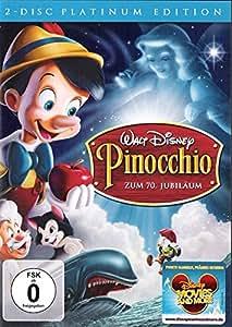 Pinocchio, Platinum Edition (2-Disc) Walt Disney