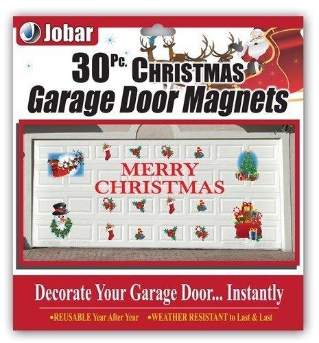 Merry Christmas Garage Door Decals (Halloween Decorations Garage Door)