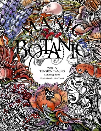 Manic Botanic: Zifflin's Coloring Book (Botanic Drawing compare prices)