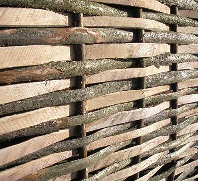 Contemporary Split Hazel Hurdles Fencing Panel 4ft 6 x 6ft