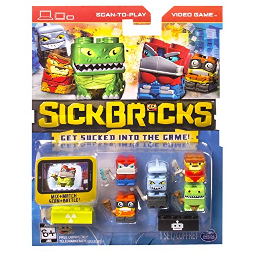 Sick Bricks - Sick Team - 5 Character Pack - Mutants vs Robots - 1