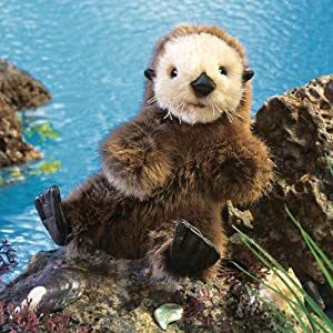 Baby Sea Otter Puppet from Folkmanis