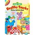Sesame Street Healthy Snacks Sticker Activity Book