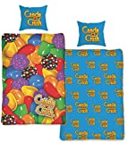 Candy Crush Saga Single Duvet Quilt Cover Bedding Set