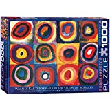 EuroGraphics Color Study of Squares and Circles, 1913 by Kandinsky Puzzle (1000-Piece)