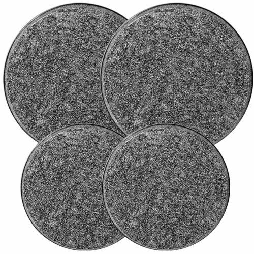 Reston Lloyd Electric Stove Burner Covers, Set of 4, Black Granite (5 6 Burner Stove compare prices)
