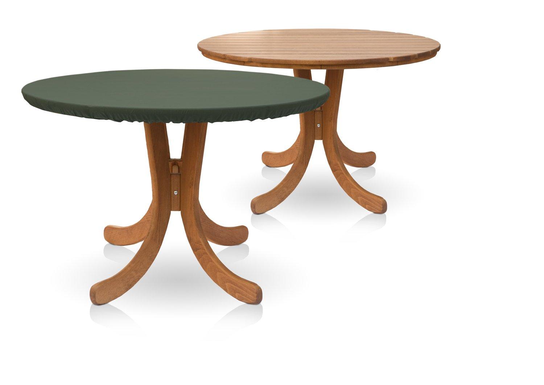 Eigbrecht 146107 Wood Cover Abdeckhaube Schutzhülle mit Abhang für Tischplatten grün Ø100x70cm günstig kaufen