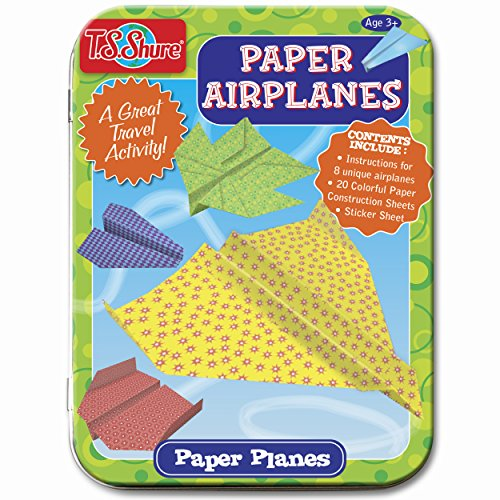 T.S. Shure Paper Airplanes Creative Activity Mini Tin - 1