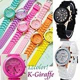 腕時計12color ビビットカラーレディース メンズOK腕時計