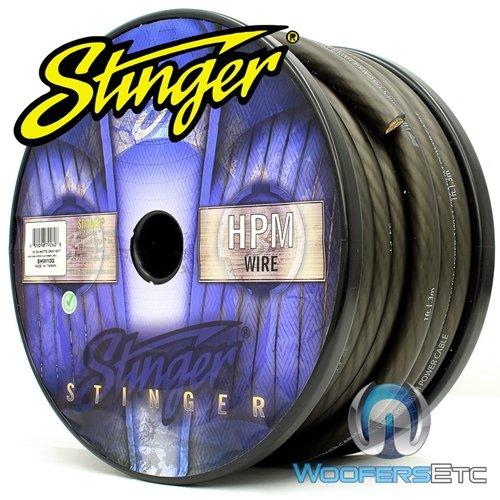 Stinger HPM Series 0 Gauge Matte Gray OFC Power Wire ...