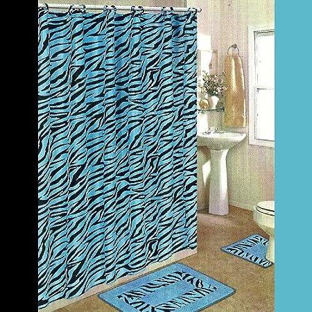 Zebra Bathroom Sets Shower Accessories Zebra Decorations For House