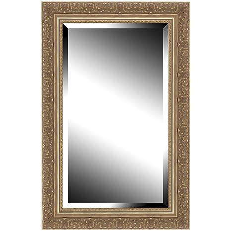 Brio 22470 miroir miroir manor dor 50 x 70 cm for Miroir bois 50 x 70