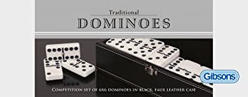 Gibsons - Set de dominos double 6 - Langue: anglais