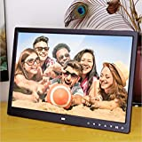 Minidiva 15Inch 16:9 Digital Photo Frame - Ultra slim Narrow Rim 1440 x 900 High Solution Electronic Picture Frame with USB,USB mini,SD Interface(Black)