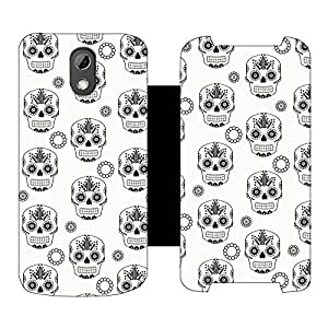 Phone Candy Designer Flip Cover with hi-res printed Vinyl sticker wrap-around for HTC Desire 526