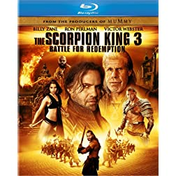The Scorpion King 3: Battle for Redemption (Two-Disc Combo Pack: Blu-ray + DVD + Digital Copy + UltraViolet)