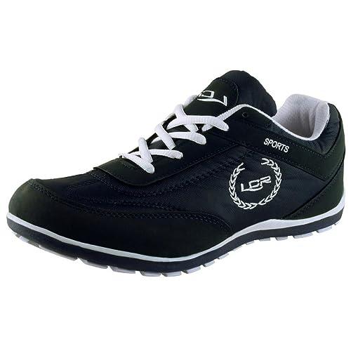Slazenger Black And Green Sport Shoes