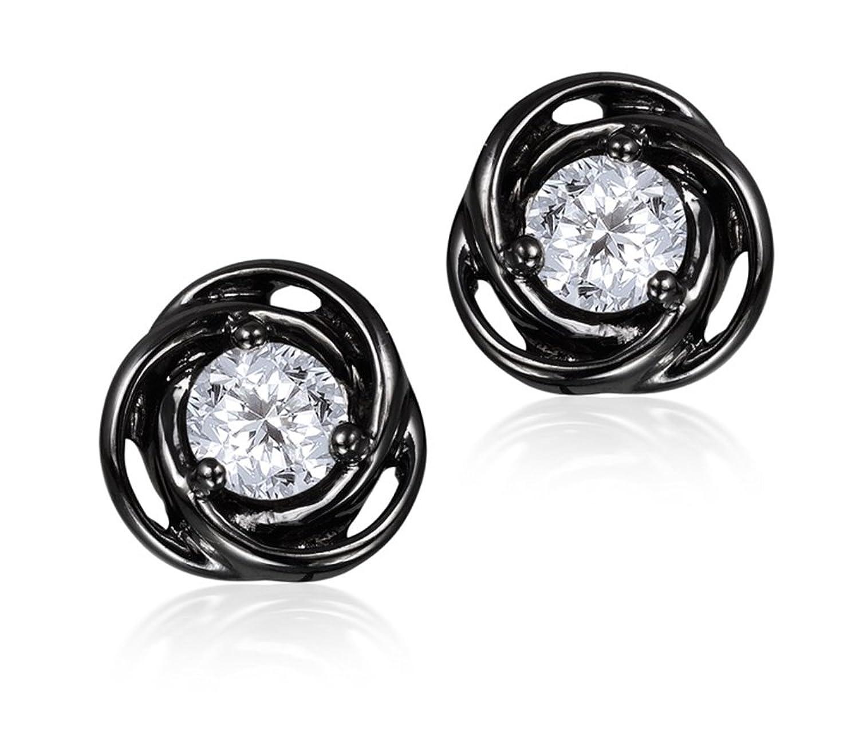Diamond Studs Forever – Solitaire-Ohrstecker – 0,5 ct. Diamanten GH/I1 – Weißgold 14 K kaufen