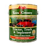 Majic Paints 8-0971-1 Town & Country Tractor, Truck & Implement Oil Base Enamel Paint, 1-Gallon, Kubota Orange (Color: Kubota Orange, Tamaño: Gallon)