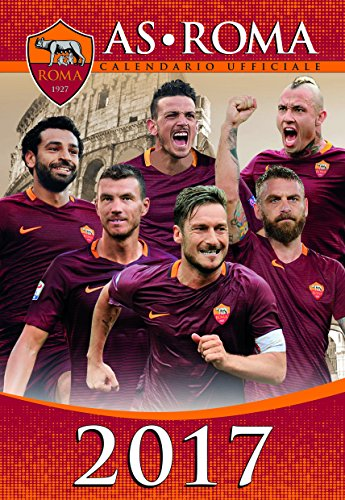calendario AS ROMA 2017 UFFICIALE - (29x42)