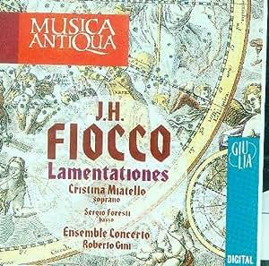 Joseph Hector Fiocco, Roberto Gini, Ensemble Concerto, Cristina