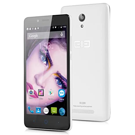 """Elephone P6000 Pro 4G Smartphone 3G + 16G MTK6753 64 bits Octa Core 5.0"""" HD Android 5,1 2MP 13МP double caméras"""