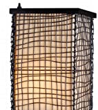 Kenroy Home 32250BRZ Trellis Outdoor Floor Lamp, Bronze Finish