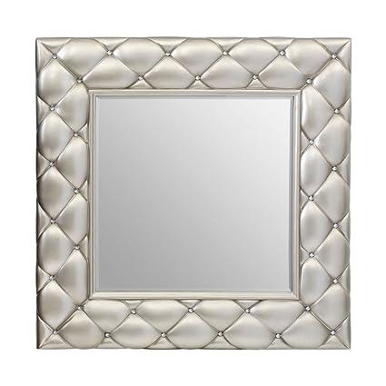 Protege Homeware Champagne Diamante Detail Venturi Wall Mirror
