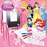Disney Princess 3 in 1Childrens Art Set/Easel Drawing Board Board Set