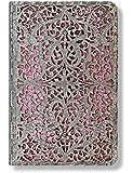 Silberfiligran Kollektion Zartrosa - Adressbuch Mini - Paperblanks